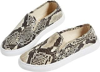 maurices Women's Becca Snakeskin Twin Gore Slip On Sneaker 9 Snakeskin