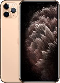 Apple MWHQ2B/A iPhone 11 Pro Max with FaceTime - 512GB, 4G LTE, Gold - International Version, Gold