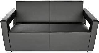 OFM Distinct Reception Room Sofa, Black