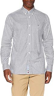Tommy Hilfiger Flex Refined Oxford Stripe Shirt Chemise Homme