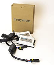 Innovited 2pcs 55w Ac HID Slim Digital Ballast for H1 H3 H4 H7 H10 H11 9005 9006 D2r D2s Universal Fit