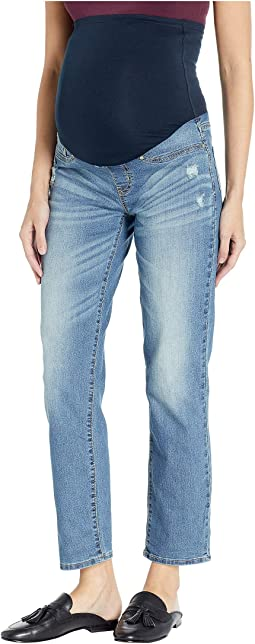 Maternity Slim Boyfriend Jeans