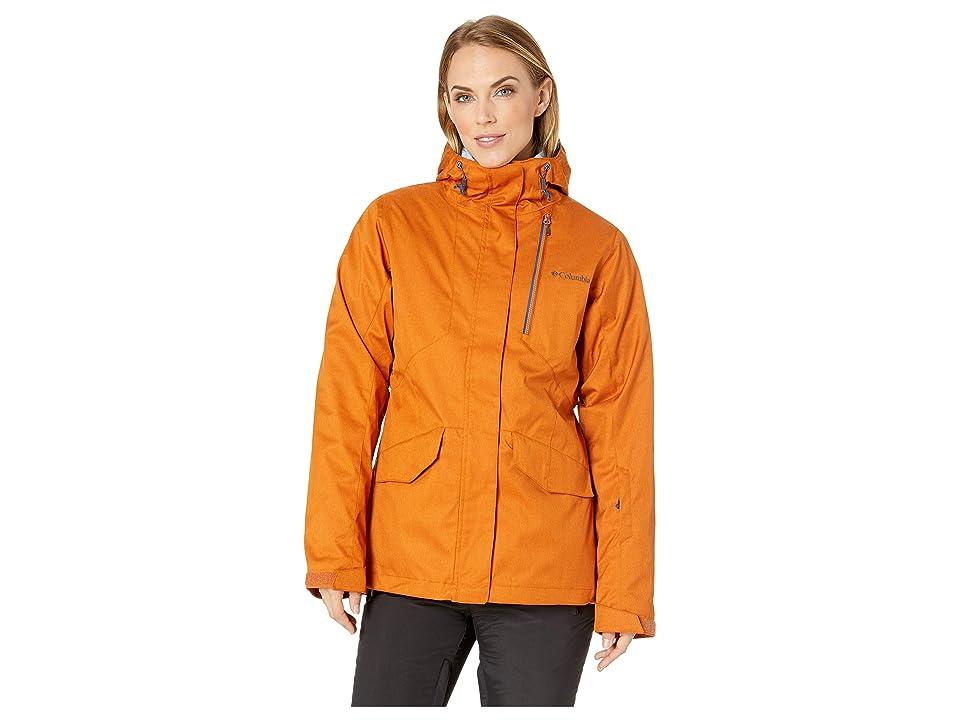 Columbia Emerald Laketm Interchange Jacket (Bright Copper Heather/Eve) Women