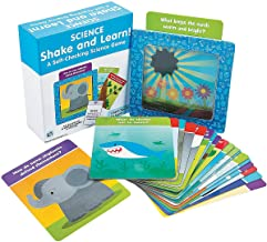 Fun Express Science Shake and Learn Cards - Educational - Learning Aids - Misc Learning Aids - 23 Pieces
