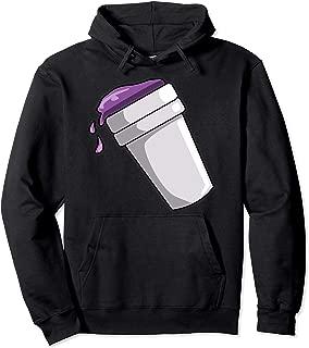 purple lean hoodie
