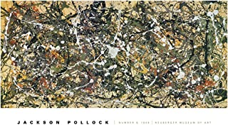 McGaw Graphics Number 8, 1949 by Jackson Pollock Painting Print