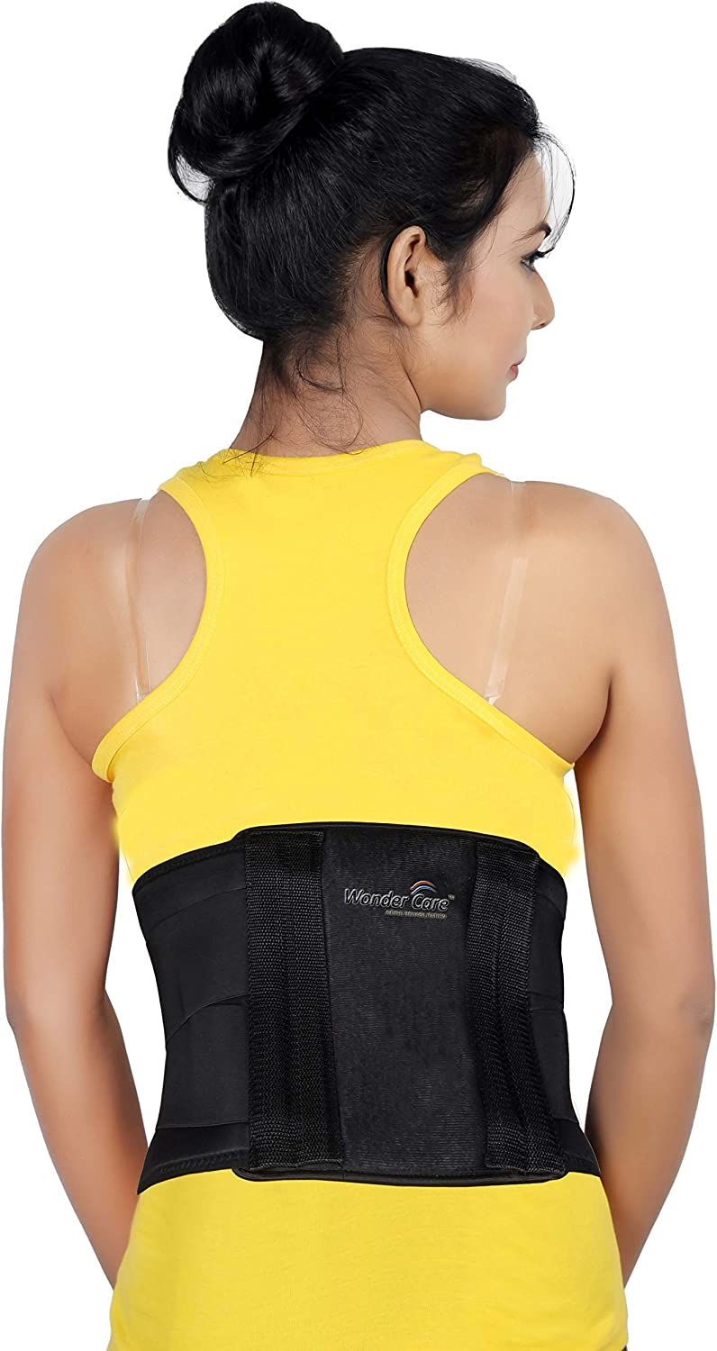 Wonder Care- Black Lumbar Support Elastic Now free shipping Suppor Breathable Back Ranking TOP3