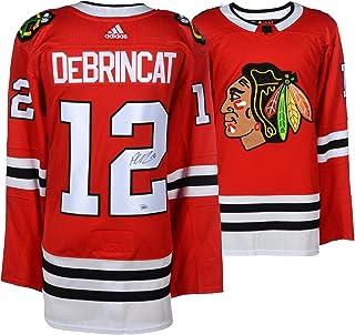 Alex DeBrincat Chicago Blackhawks Autographed Red Adidas Authentic Jersey - Fanatics Authentic Certified
