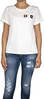Luxury Fashion | Dixie Womens T371L1521100 White T-Shirt | Spring-Summer 19