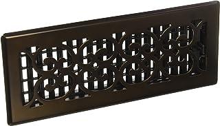 Decor Grates SPH412-RB Floor Register, 4×12, Rubbed Bronze Finish