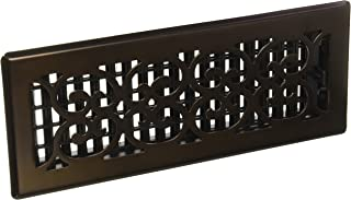 Decor Grates SPH412-RB Scroll Plated Register, 4-Inch by 12-Inch, Rubbed Bronze