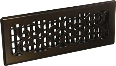 Decor Grates SPH412-RB Floor Register, 4x12, Rubbed Bronze Finish