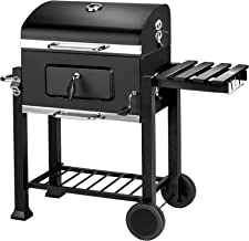 TecTake Barbacoa Barbecue Grill con Carbón Vegetal Parrilla