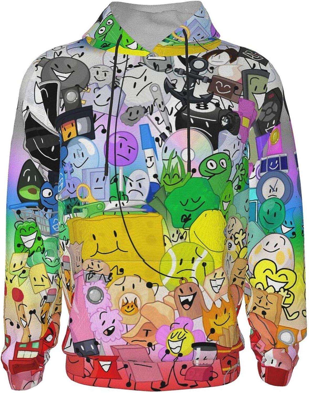 Battle-for-Bfdi Max 84% OFF Kids Hoodie Graphic San Diego Mall w Fleece Hooded Sweatshirt