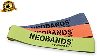 Zenmarkt NEOBANDS Resistance Loop Exercise Bands - Newest Fabric Innovation (Set of 3)