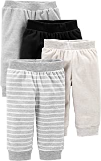 Baby 4-Pack Fleece Pants