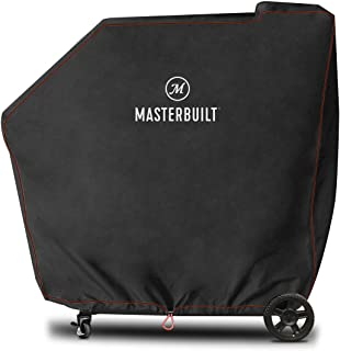 Masterbuilt MB20080220 Gravity Series 560 Digital Charcoal Grill + Smoker Cover, Black