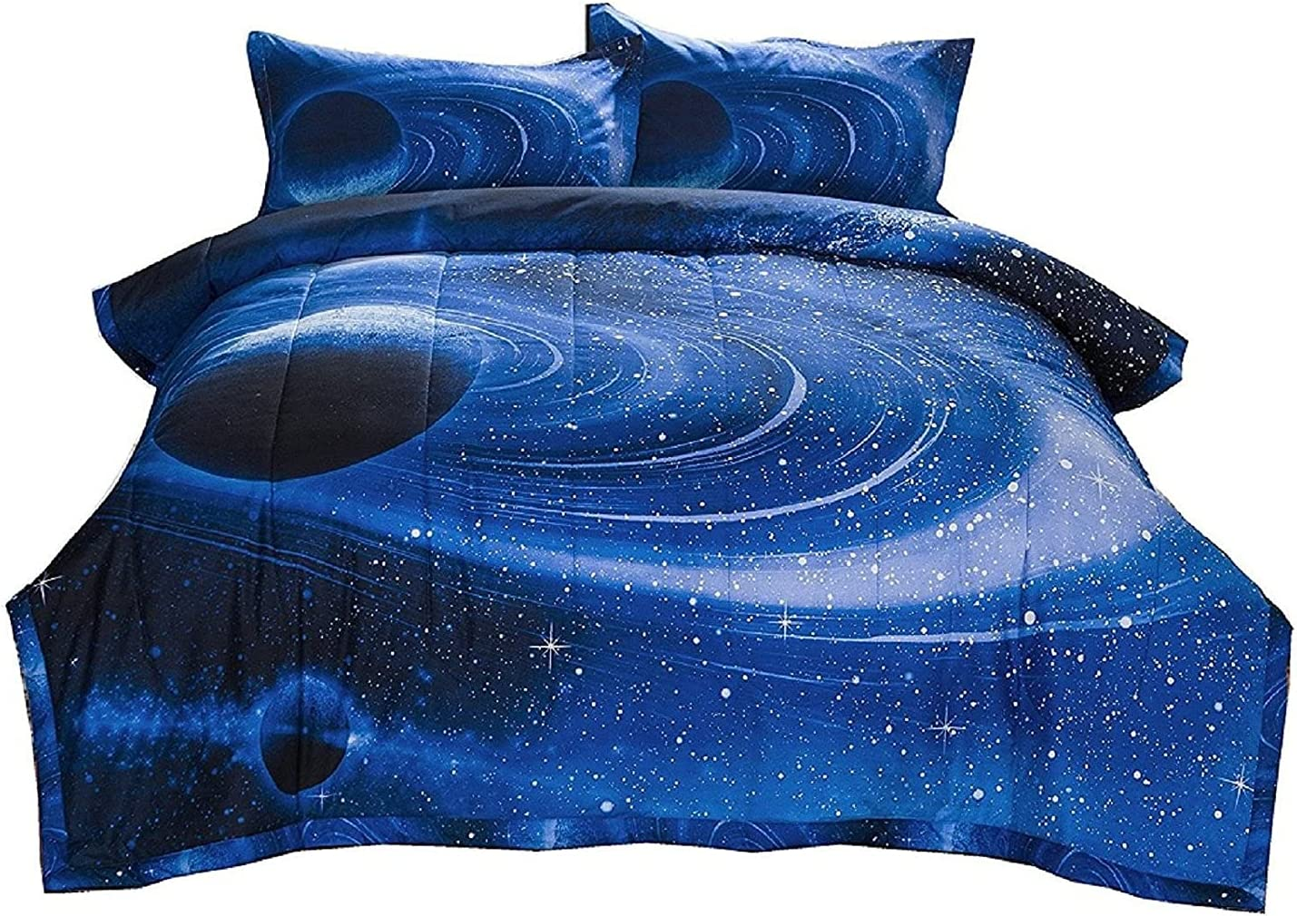 Fees free FLC Galaxy Bedding Sets Cloud with Comforter Bedroom Superior Quilt