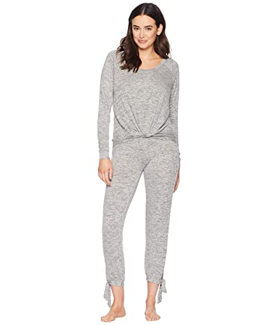 UGG Fallon Knit Sleepwear Set (Grey Heather) Women