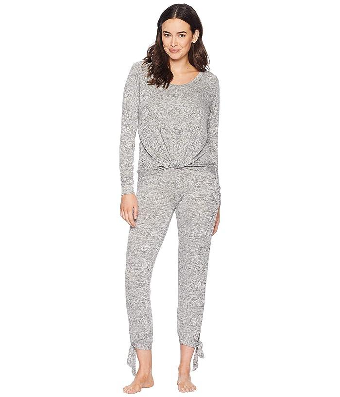 UGG Fallon Knit Sleepwear Set (Grey Heather) Women