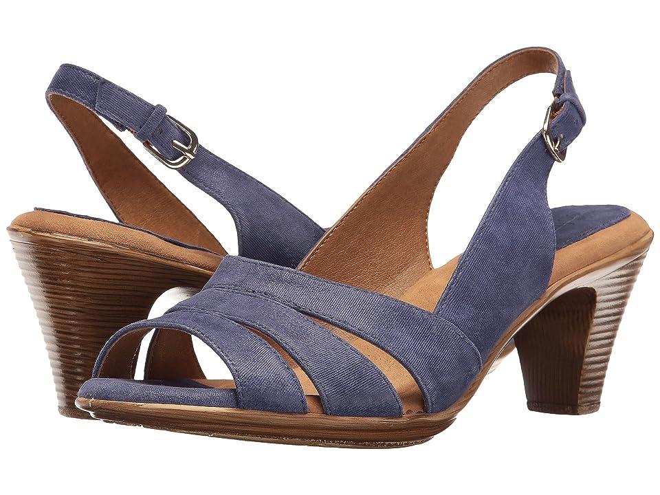 Comfortiva Neima Soft Spots (Cobalt Blue Mini Dot Suede) Women