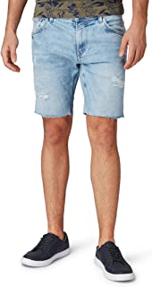 NOS Denim Sweat Shorts Pantalones Cortos para Hombre Tom Tailor Denim