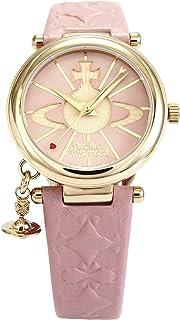 [ヴィヴィアンウエストウッド]Vivienne Westwood 腕時計 ORB ピンク文字盤 ピンク革 クォーツ VV006PKPK レディース 【並行輸入品】