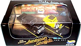 Hot Wheels AMERICAN GRAFFITI 25th Anniversary Diecast Car Set