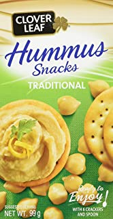 Clover Leaf Hummus Snack Kit Classic, 12 Count
