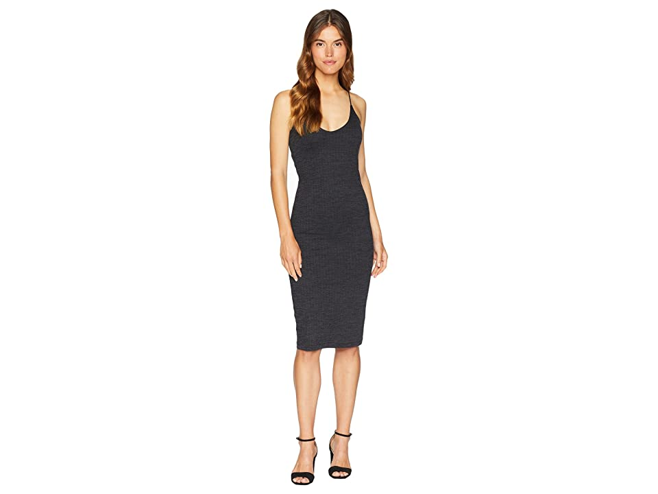 Hurley Reversible Fitted Dress (Black) Women
