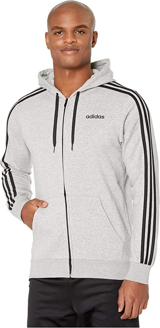 adidas Mens  Pique Pull Over Hoodie