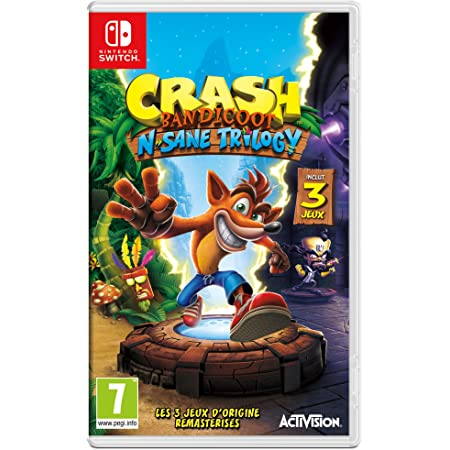 Activision Ng Crash Bandicot Trilogy Switch Computers Accessories