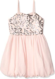 Amy Byer Girls' Big Sparkle and Twirl Party Dress