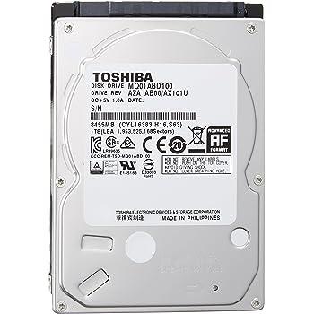 東芝 MQ01ABD100 1TB アマゾン限定モデル 2年保証 SATA 6Gbps対応2.5型内蔵ハードディスク