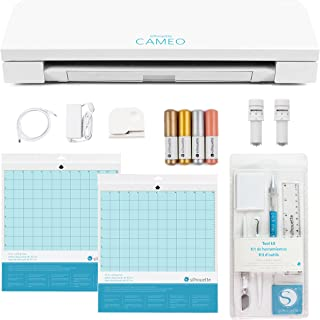 Silhouette CAMEO 3 Wireless Cutting Machine - Ultimate Starter Bundle