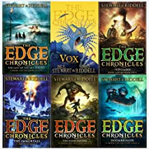 The Edge Chronicles Level : 7 to 12 Books Collection 6 Books Set (The Last of the Sky Pirates, Vox, Freeglader, The Immortals, The Nameless One, Doombringer)