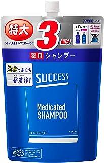 【大容量】 サクセス 薬用シャンプー つめかえ用 960ml [医薬部外品] アブラ ワックス ニオイ 一発洗浄 アクアシトラスの香り 960ミリリットル (x 1)