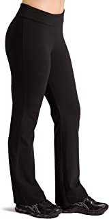 Women's Ecofabric Classic Bootleg Yoga Pant; Athletic Casual Pant