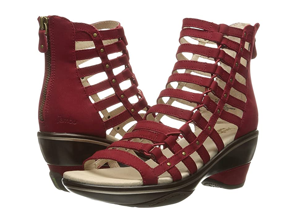 Jambu Brookline (Deep Red Solid) Women