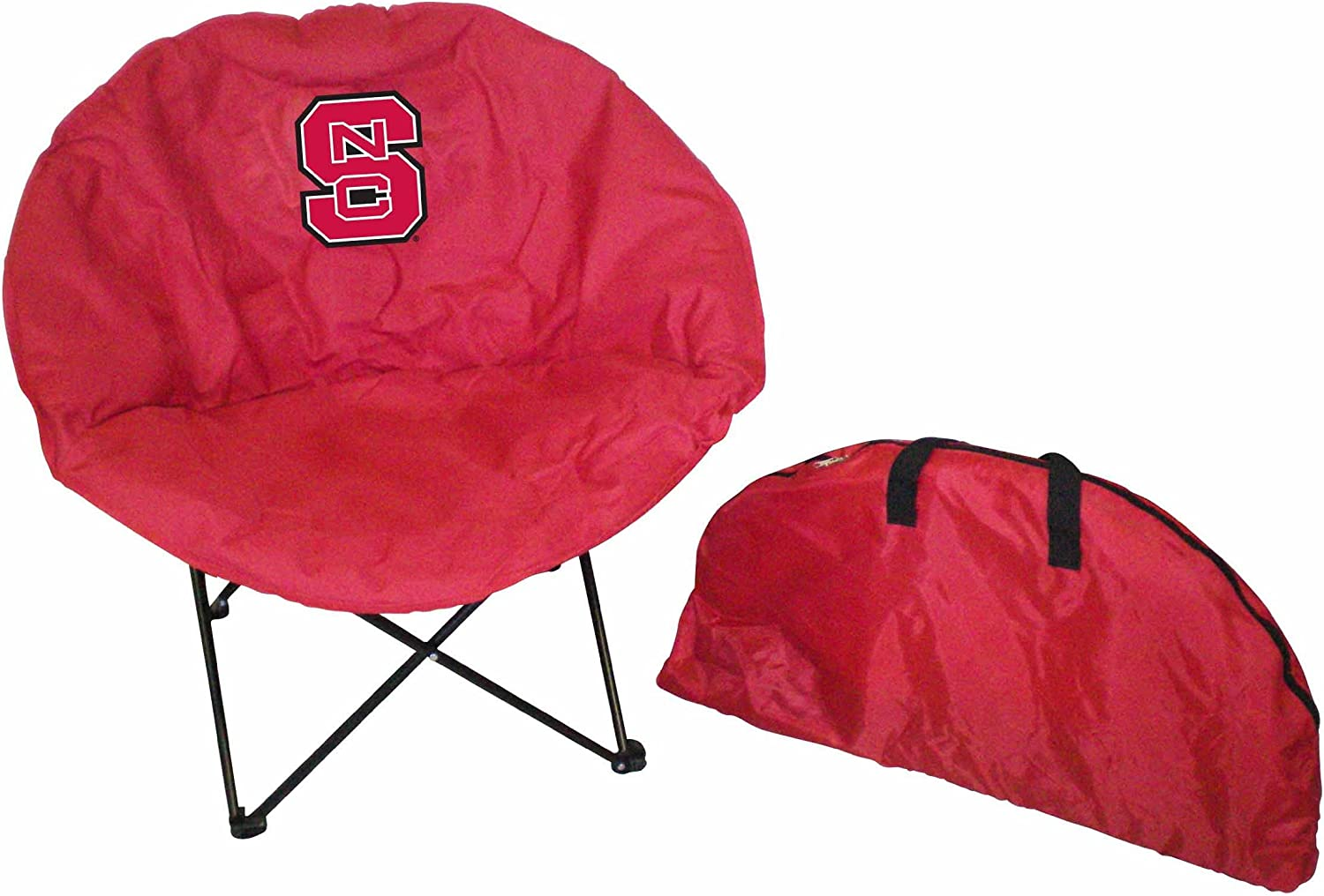 Mail order cheap Rivalry NCAA North Carolina State Round Chair Folding 55% OFF Wolfpack