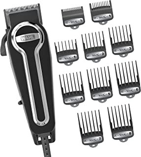 Wahl Clipper Elite Pro High-Performance Home Haircut & Grooming Kit for Men – Electric Hair Clipper – Model 79602