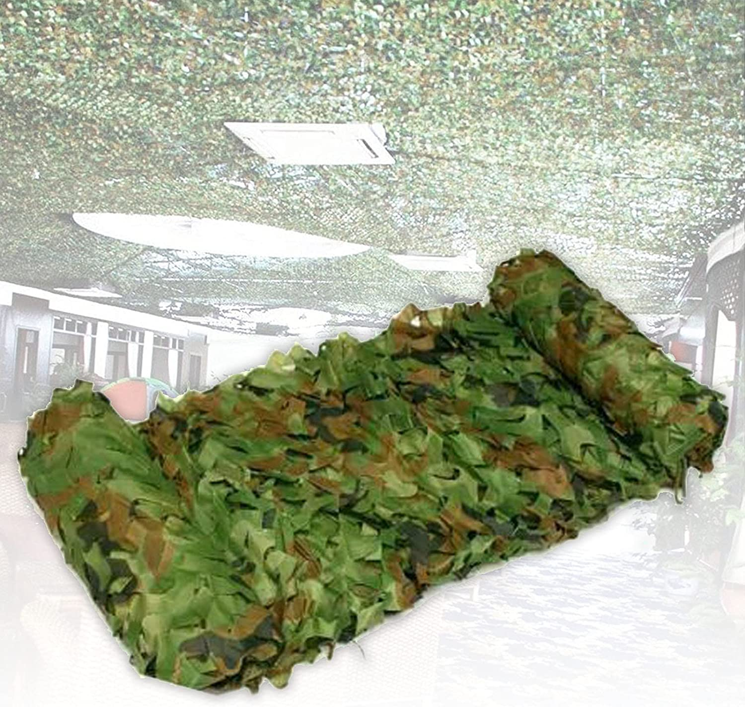 ZCBHSD Camo Netting Green Attention brand Camouflage Net Home for Same day shipping Decor Sunshade