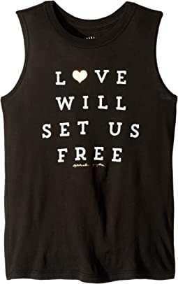 Set Free Muscle Tank Top (Little Kids/Big Kids)