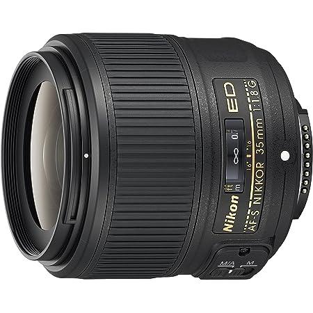 Nikon AF-S Nikkor 35mm f/1.8G ed Obiettivo, Nero [Versione EU]