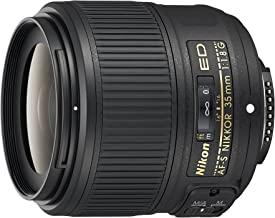 Nikon AF-S NIKKOR 35mm f/1.8G ED Fixed Zoom Lens with Auto Focus for Nikon DSLR Cameras