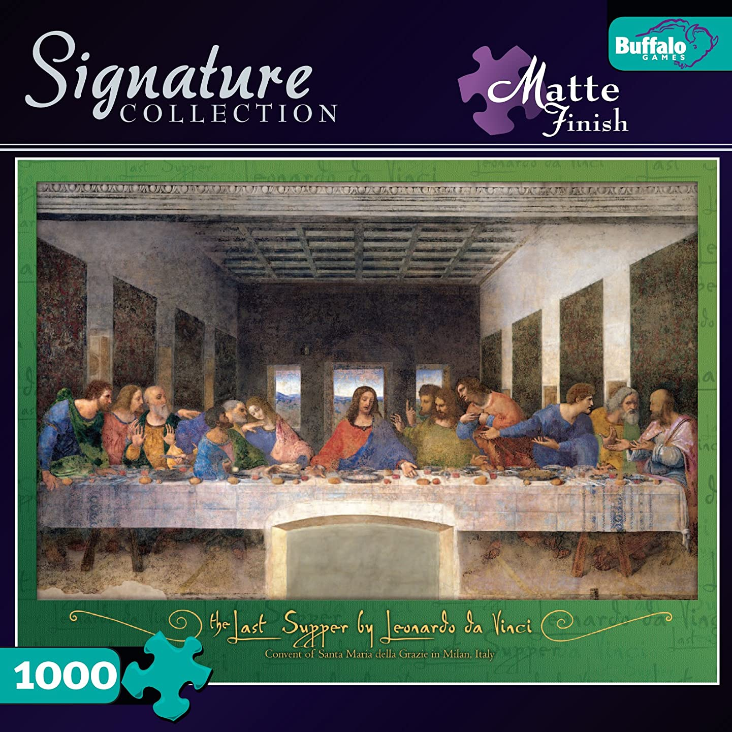 Buffalo Games Signature Collection: Last Supper 1000pc Jigsaw Puzzle