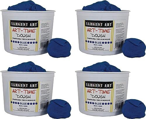 2021 Sargent outlet online sale Art 85-3350 3-Pound Art-Time online sale Dough, Blue (Fоur Расk) outlet online sale