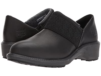 Timberland PRO Riveter Alloy Safety Toe SD+ (Black Swank Full Grain Leather) Women