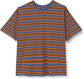 Urban Classics Herr gårdsdyed oversized Board Stripe T-shirt