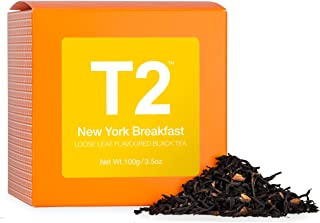 T2 Tea - New York Breakfast Black Tea, Loose Leaf in a Box 100g (3.5oz)